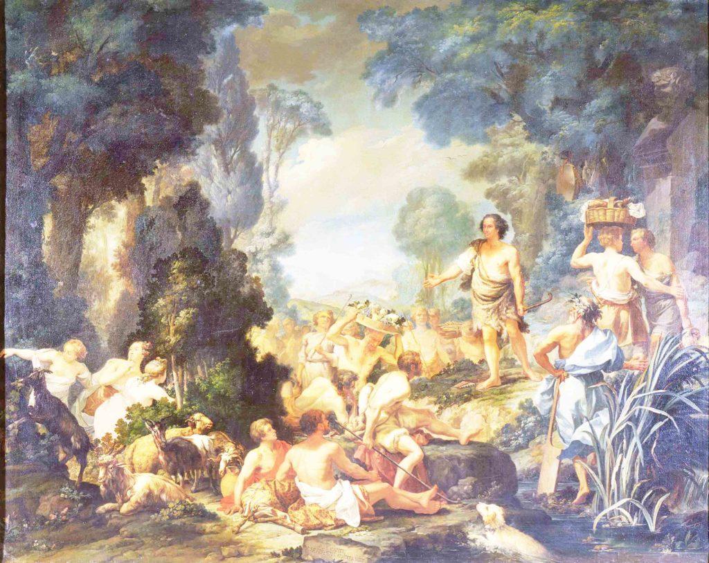 Toccobarocco, Amore in Arcadia