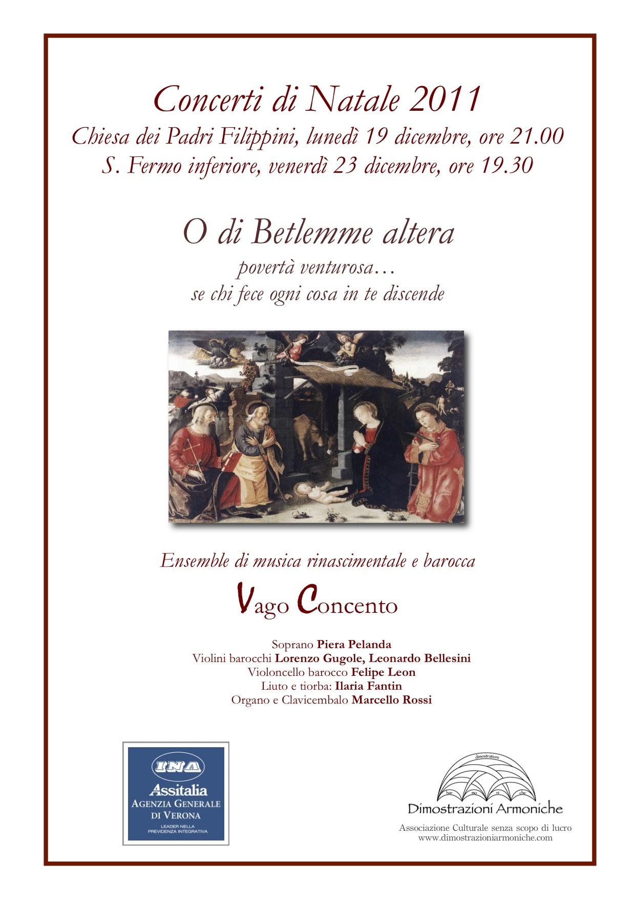 2011 5 concerti di natale 2011-2